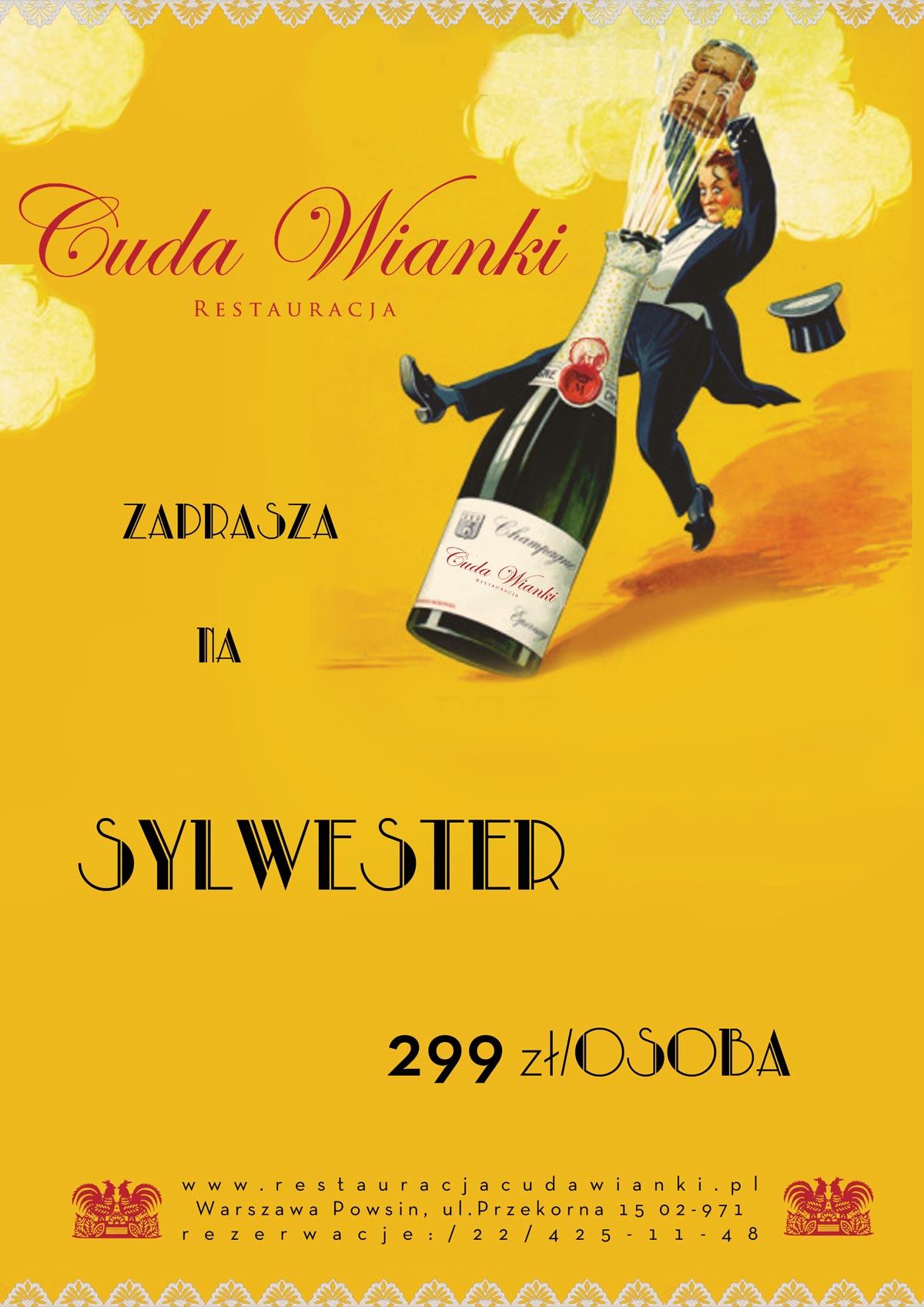 Sylwester Warszawa Wilanów 2016