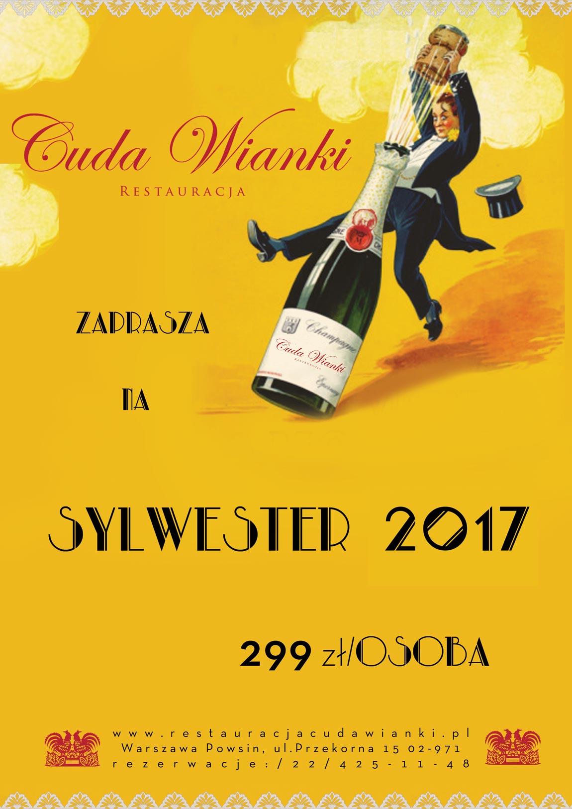 Sylwester Warszawa Wilanów 2017